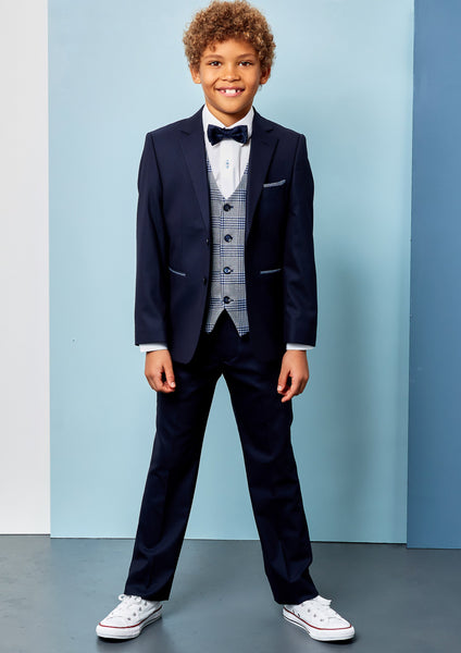 Benetti Louis Navy Boys Suit
