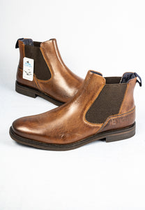 Bugatti 321-A0830-1100 6000 Brown Leather Men's Boots for sale online ireland