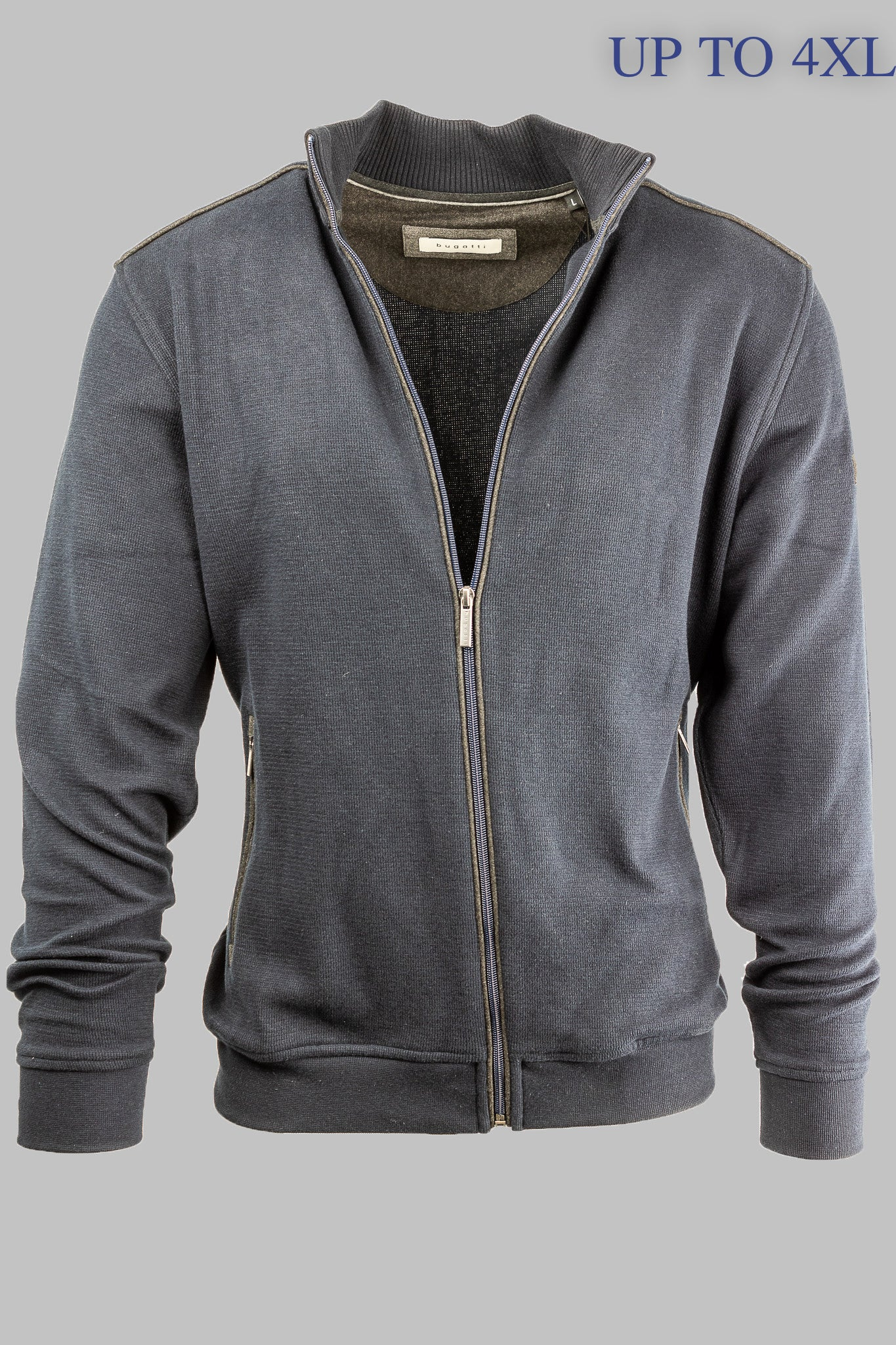 8700 65050 390 Bugatti Men's Navy Cardigan for sale online ireland