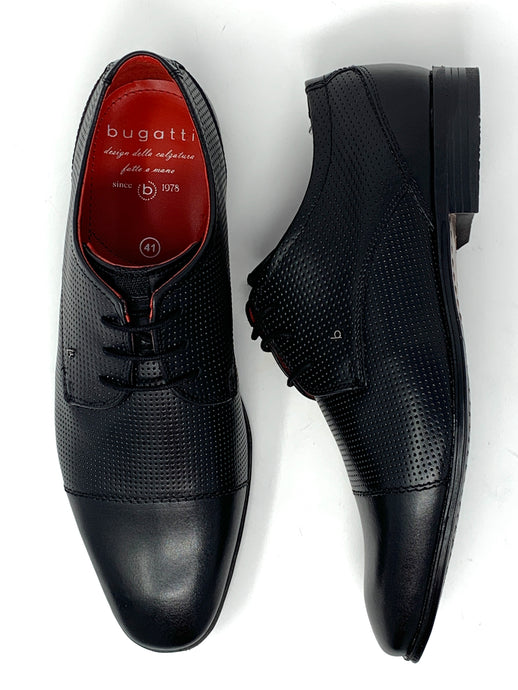 311-66612-1000 1000 Bugatti Men's Brogue Suit Shoes In Black for sale online ireland