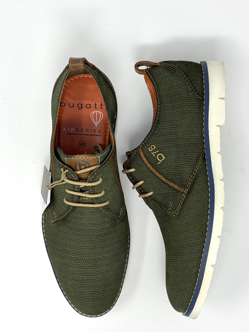 311-91901-1400 Bugatti Men's Casual Trainers in green for sale online ireland