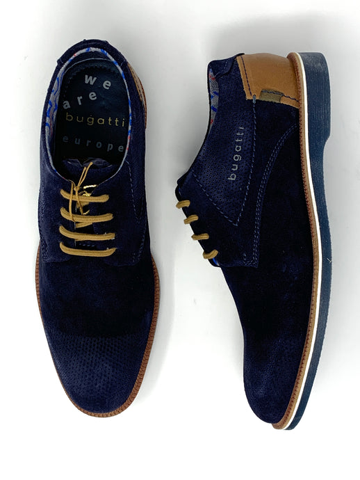 312-64702-1400-4100 Bugatti Men's Casual Suede Shoes for sale online ireland