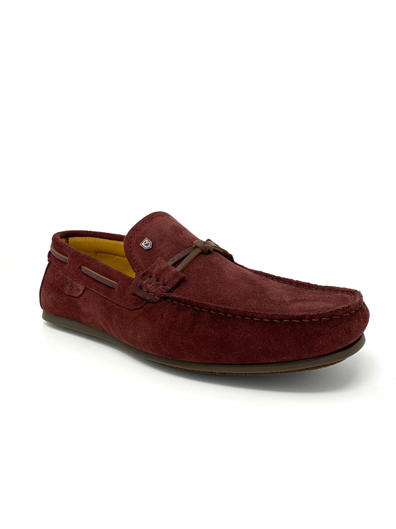 Suede Leather Voyager Loafers