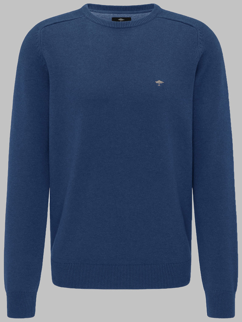 Fynch-Hatton 1220 200 | Cotton Crew Neck Knit