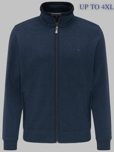 Fynch-Hatton 1220 3102 Superfine Cotton Full Zip Men's Cardigan 4xl for sale online ireland