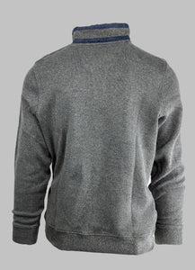 Fynch-Hatton 1220 3300 | Cotton Half-Zip with Zip Chest Pocket