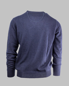 Fynch-Hatton 1220 801 | Premium Merino Wool Cashmere V-Neck Knit