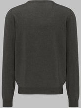 Load image into Gallery viewer, Fynch-Hatton 1220 801 | Premium Merino Wool Cashmere V-Neck Knit
