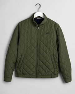 7006043 358 Gant Quilted Men's Casual Jacket for sale online ireland clover green