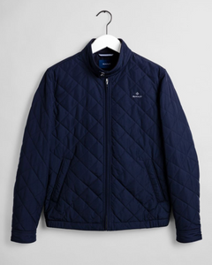 7006043 433 Gant Quilted Men's Casual Jacket for sale online ireland navy