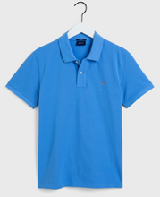 Load image into Gallery viewer, 2201 445 Gant Men's Polo Shirt for sale online ireland pacific blue