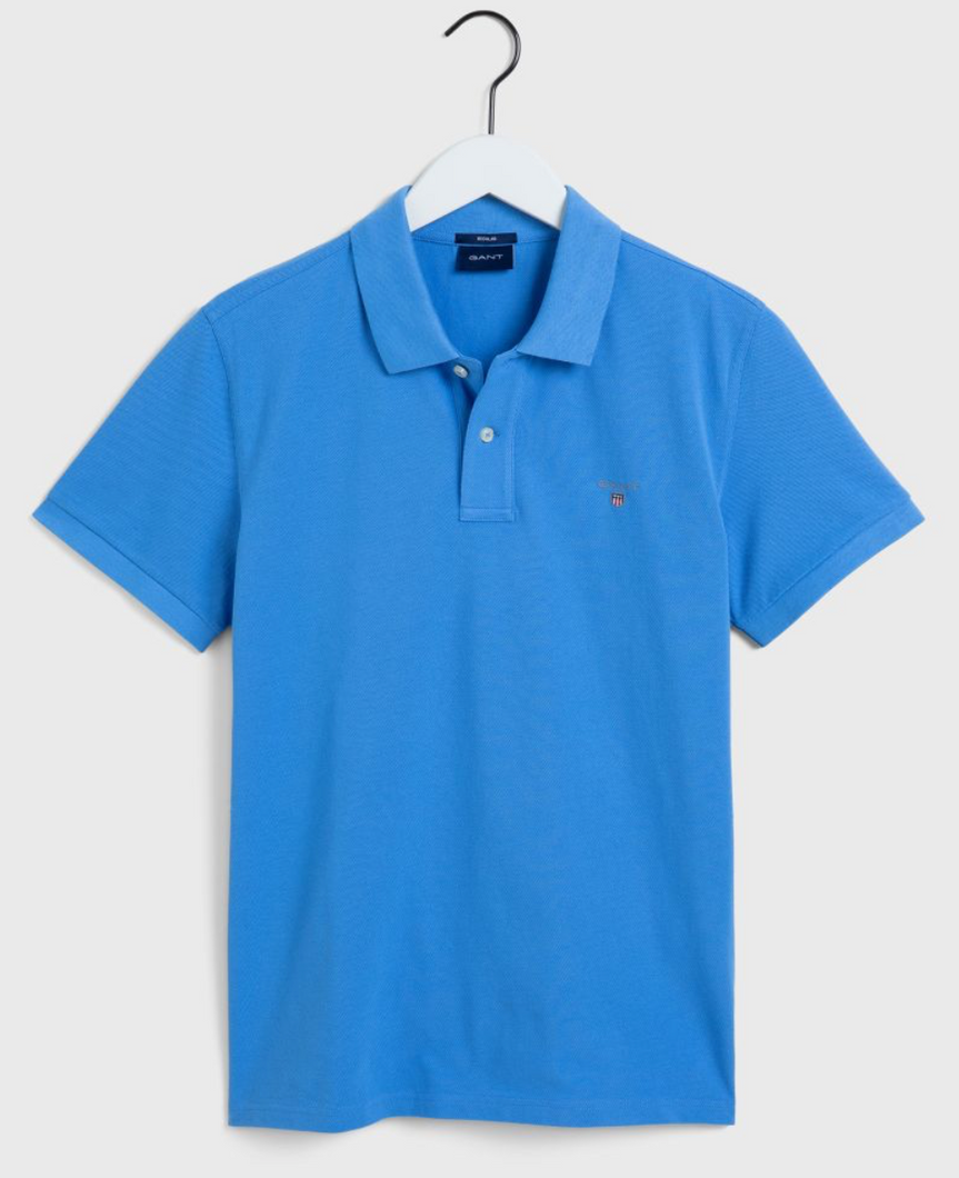 2201 445 Gant Men's Polo Shirt for sale online ireland pacific blue