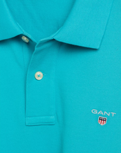 Load image into Gallery viewer, 2201 456 Gant Men's Polo Shirt for sale online ireland Aqua