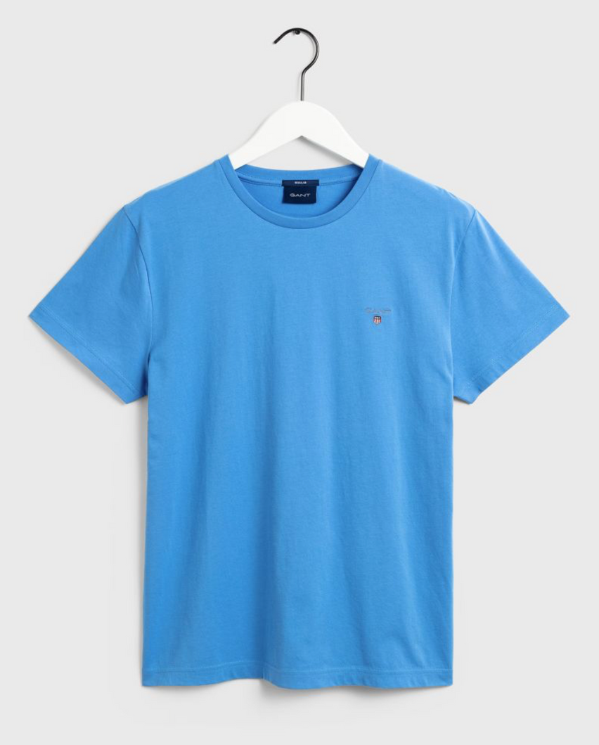 234100 445 Gant Men's T-Shirt for sale online ireland pacific blue