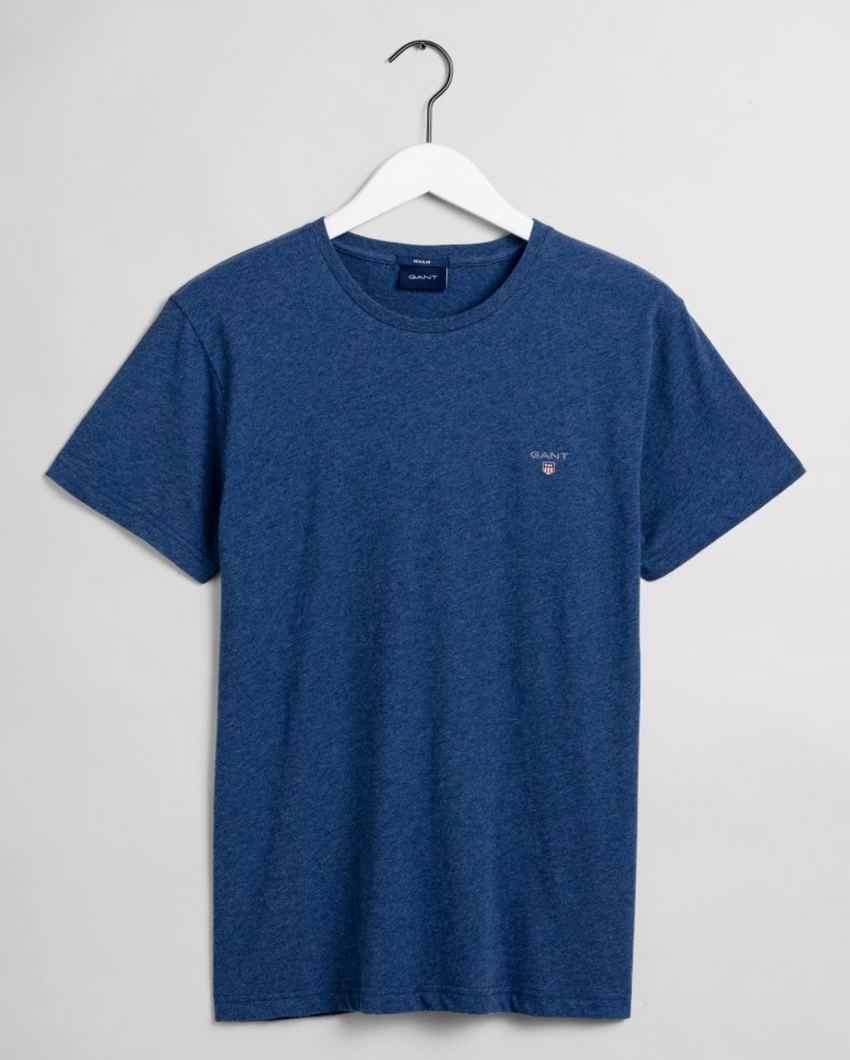 234100 482 Gant Men's T-Shirt for sale online ireland dark cobalt blue
