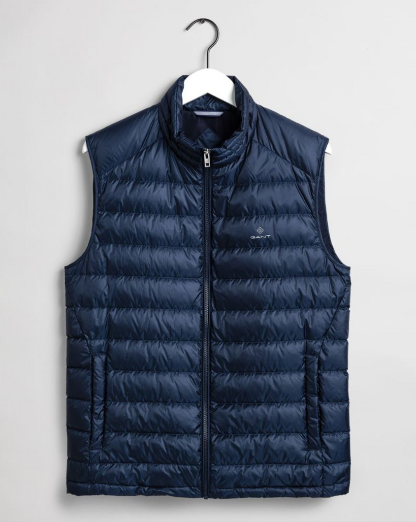 7006039 410 Marine Navy Gant Down Men's Gilet