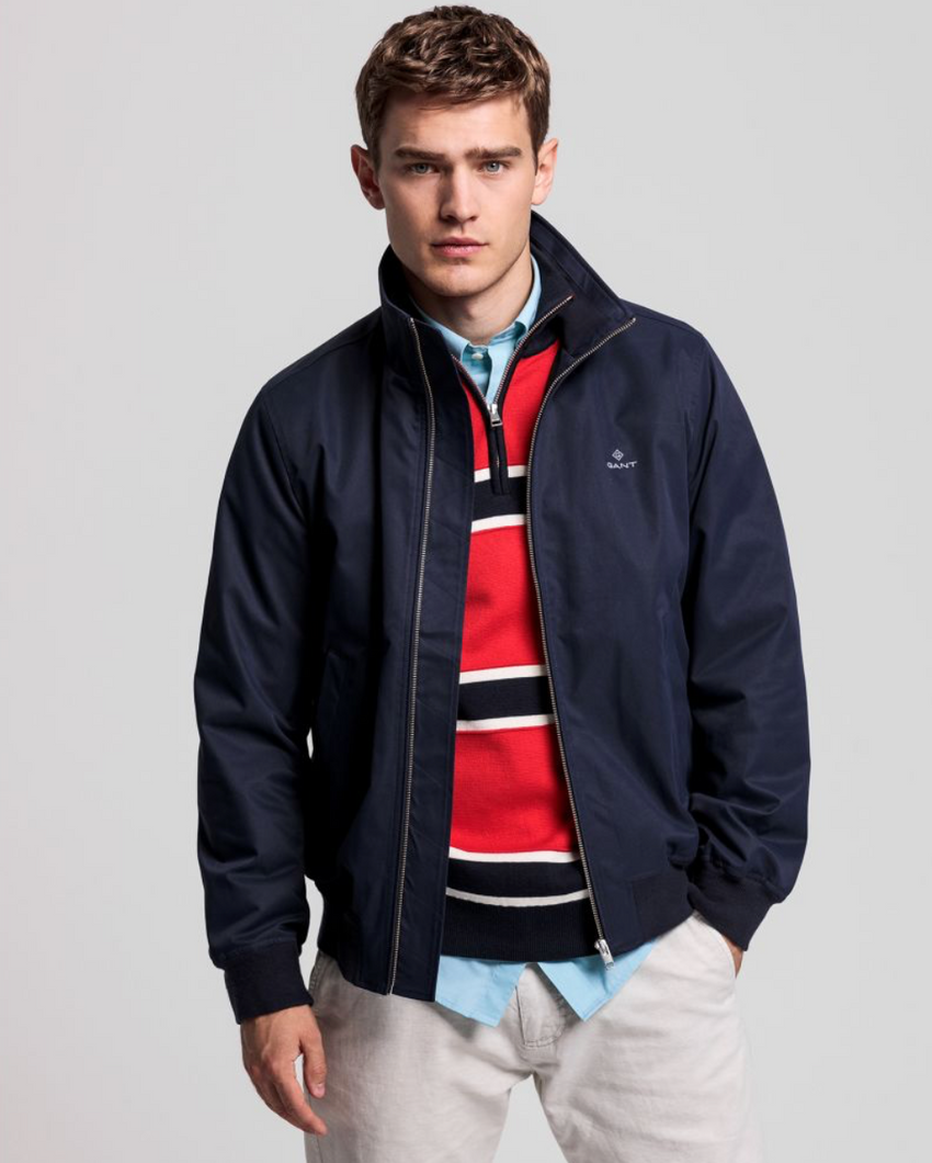 7006050 433 Navy Evening Blue Spring Hamshire Men's Gant Jacket for sale online Ireland