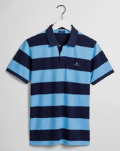 Load image into Gallery viewer, 2022001 457 Toy Blue Gant Men's Polo Shirt for sale online ireland