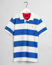 Load image into Gallery viewer, 2052001 113 Gant Eggshell Barstripe Men's Polo Shirt for sale online ireland