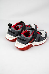 Geox Boys Velcro & Elastic Shoes J04CQA Grey and Red for sale online Ireland