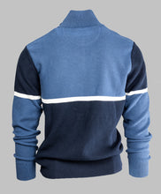Load image into Gallery viewer, Eden Park H20MAIPU0024 | Colour Block Half Zip Jumper