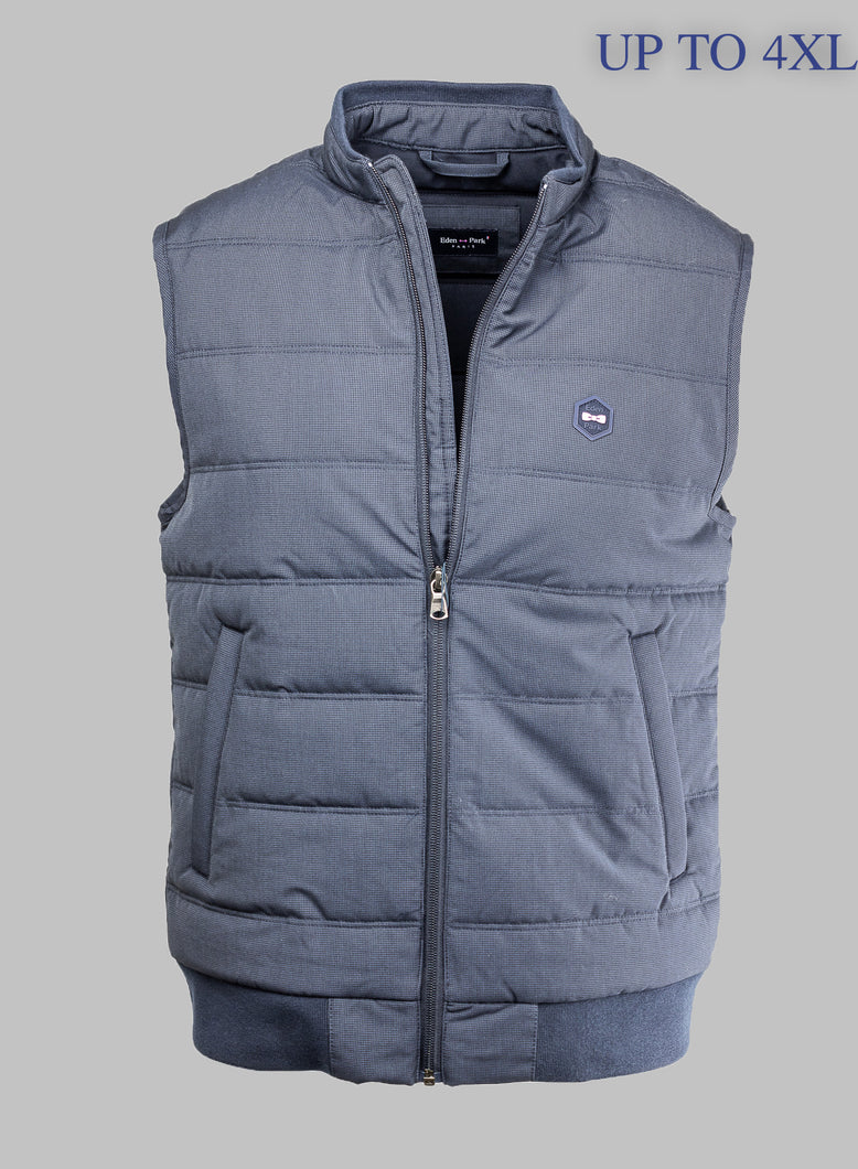 H20PAMDS0002 Eden Park Navy Gilet for sale online ireland 4XL