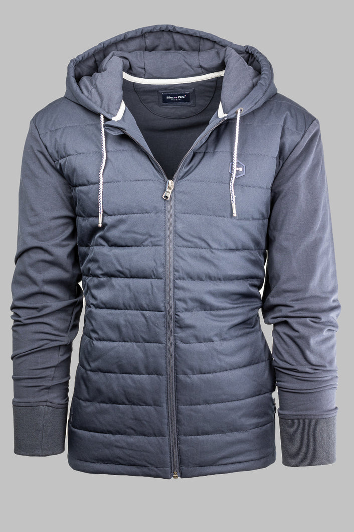 H20PAMPA0001 Eden Park Navy Hooded Jacket for sale online Ireland