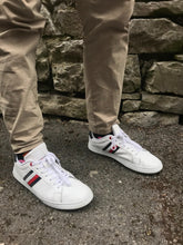 Load image into Gallery viewer, Tommy Hilfiger White Essential Leather Capsole Men's Trainers