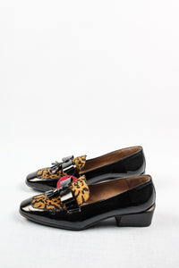 C-6304 Wonders Ladies Loafer Shoe in Leopard & Black for sale online ireland