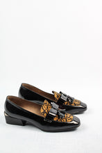 Load image into Gallery viewer,  C-6304 Wonders Ladies Loafer Shoe in Leopard & Black for sale online ireland