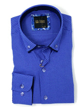 Load image into Gallery viewer, 201 DC Dobby 6th Sense Men's regular fit printed shirt for sale online ireland