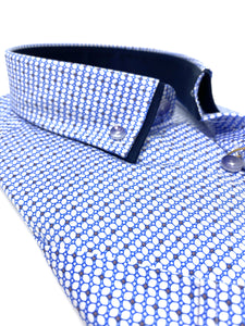 201 SS Prints 6th Sense Men's regular fit short sleeve shirt Shirt for sale online ireland