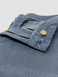 Kansas Print 6th Sense Men's Navy regular fit Chinos for sale online ireland
