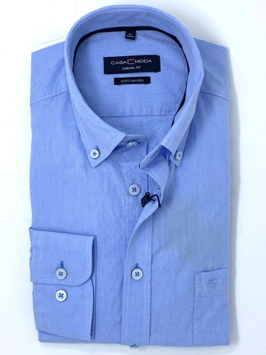 Casa Moda | Long Sleeve Oxford Shirt