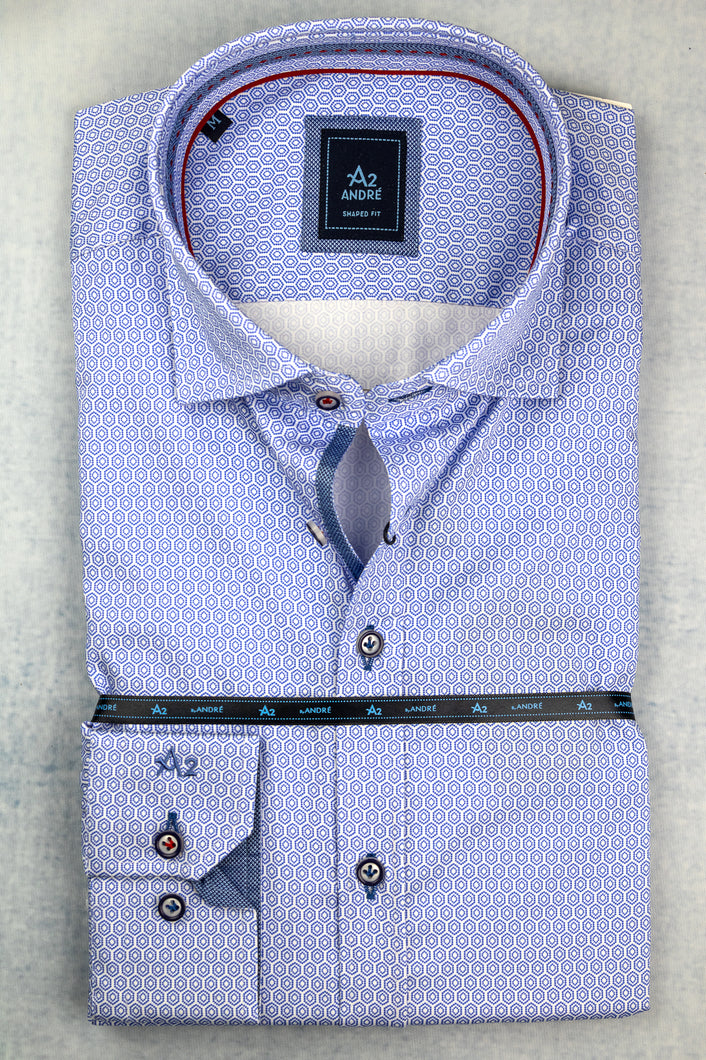 Andre A2 Vienna Blue Men's Shirt for sale online ireland