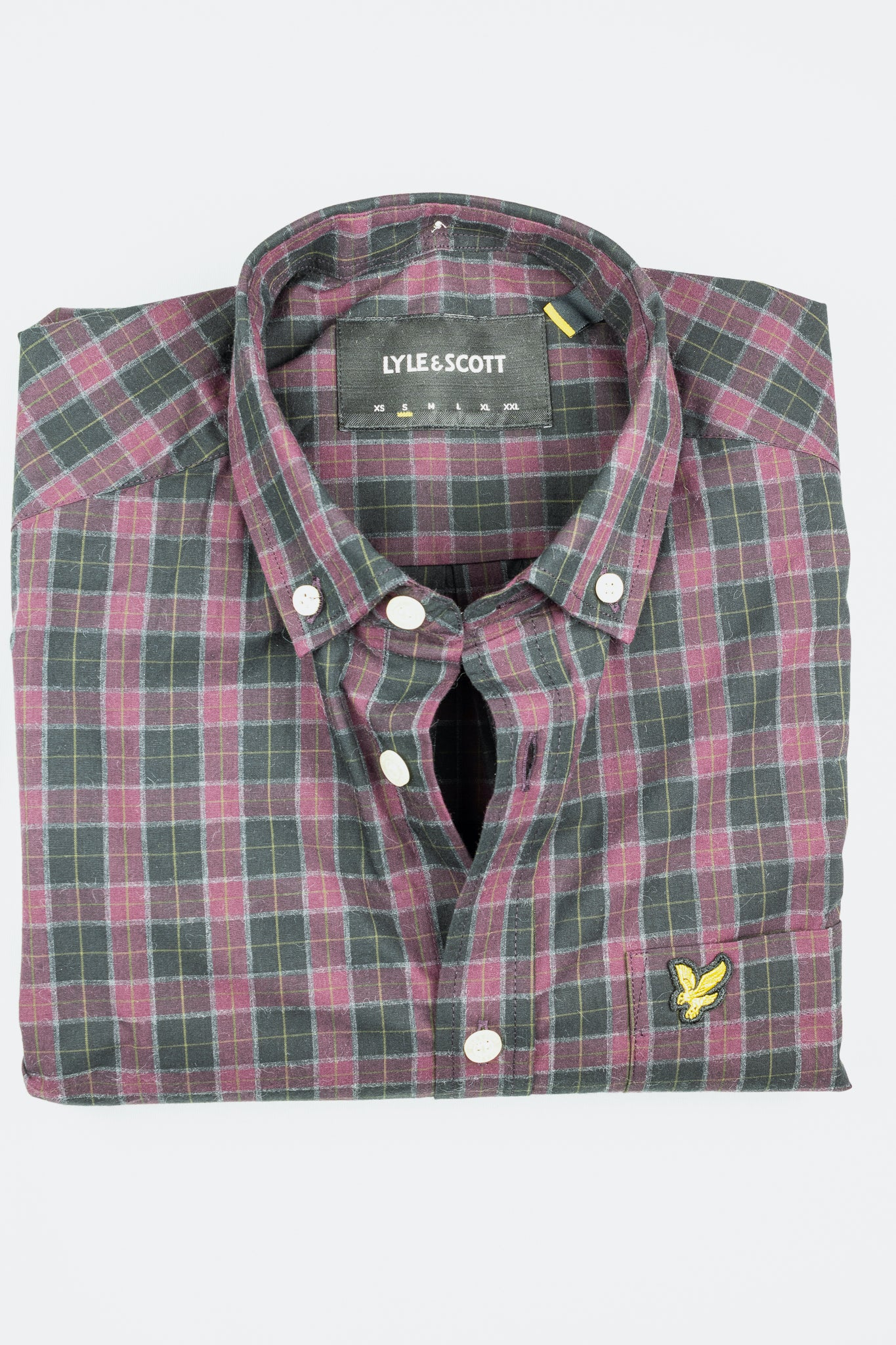 LW1309V Lyle & Scott Check Men's Shirt for sale online ireland