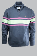 Load image into Gallery viewer, Farah F4KMA010 Stripe 1/2 Zip love for sale online ireland