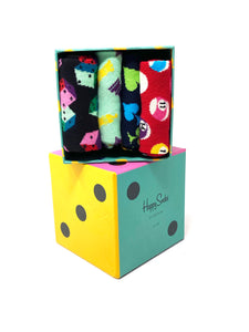 Happy Socks | 4 Pack Game Night Gift Box for sale online ireland