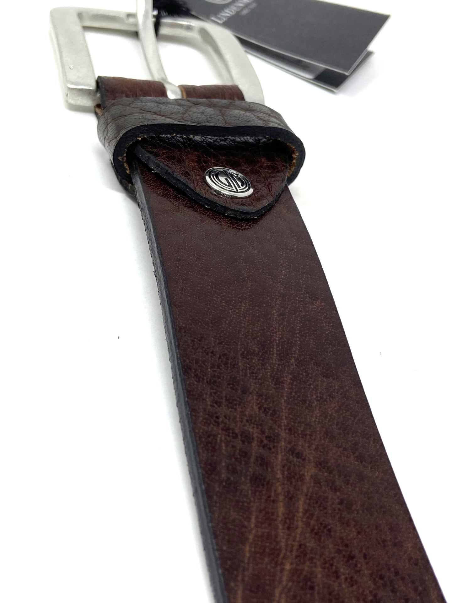 1000336 | Lindenmann Belt brown leather snakeskin design for sale online ireland
