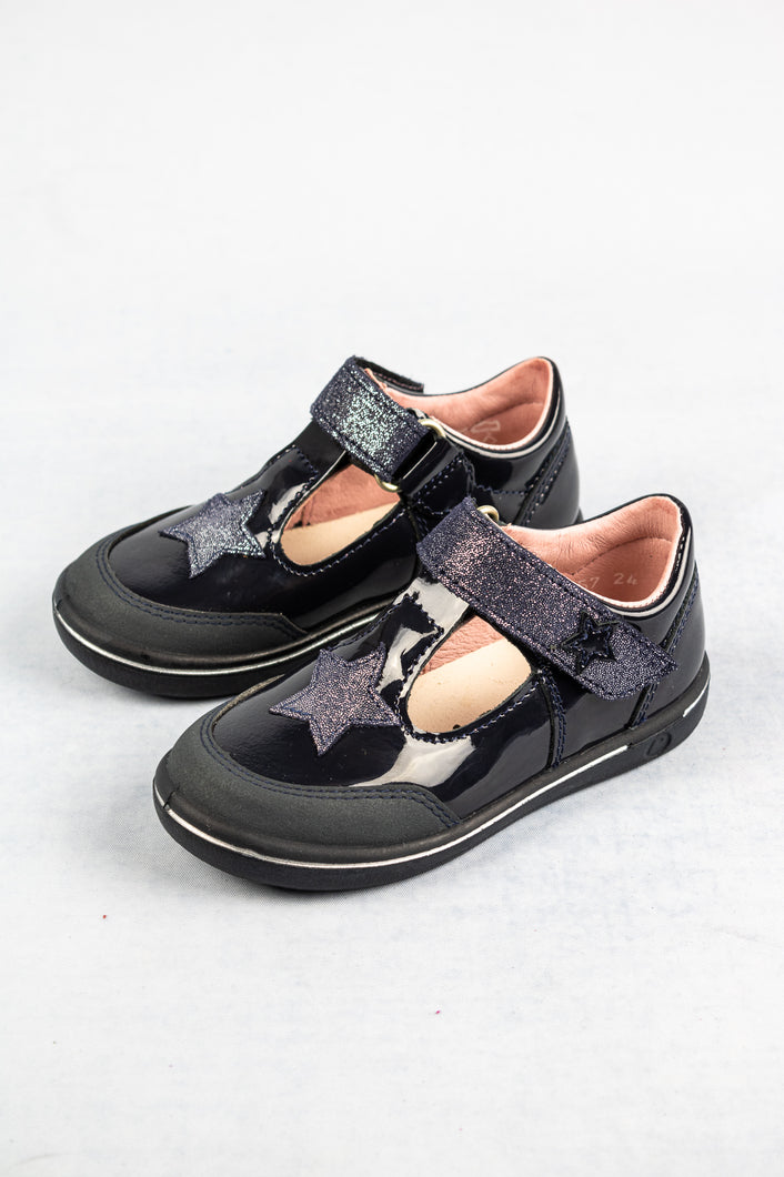 Ricosta 2625200 | Leather Velcro Shoes