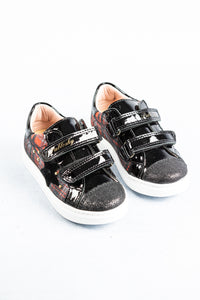284119 Pablosky Trainers Black with Orange Check for sale online ireland