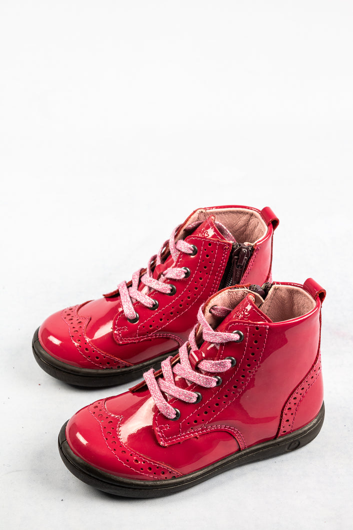 Ricosta 2624500 | Zip & Lace Leather Boots