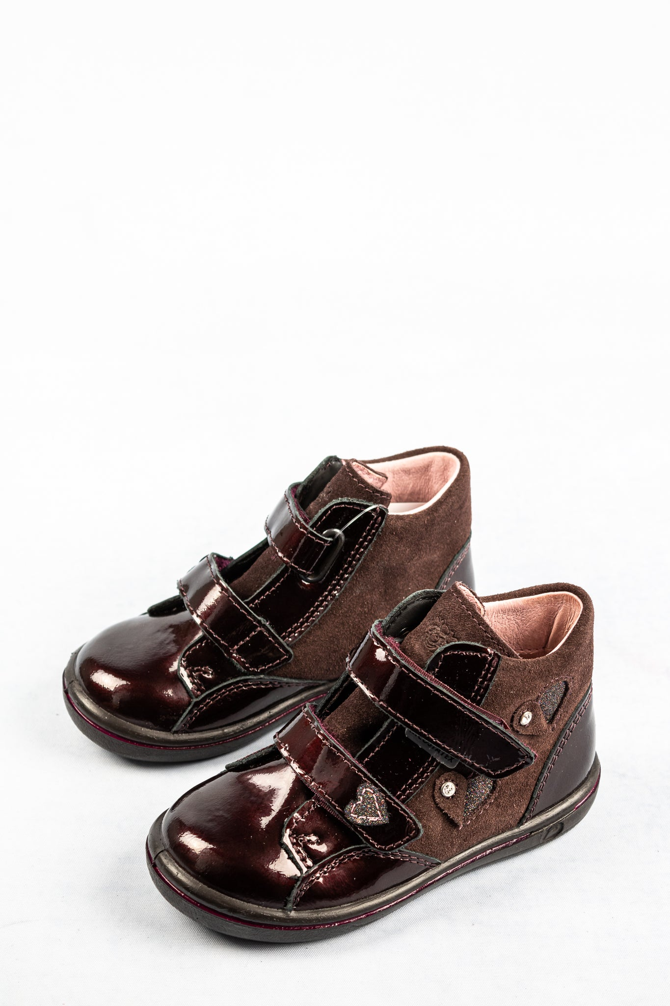 Ricosta 2624900 | Leather Velcro Girls Boots