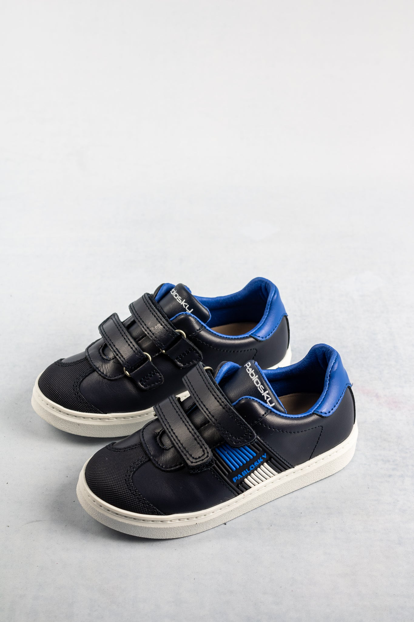 283124 Pablosky Blue Velcro Boys Trainers for sale online ireland