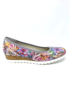 42.641 Gabor Ladies Closed To Wedge Shoes for sale online ireland multicoloured