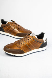 Tommy Bowe Reilly | Casual Shoe with Punched Upper Detail