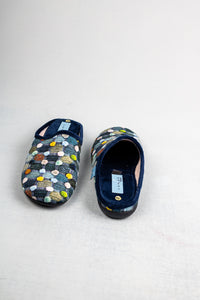 Lunar KLA096 | Slip On Dotted Slippers