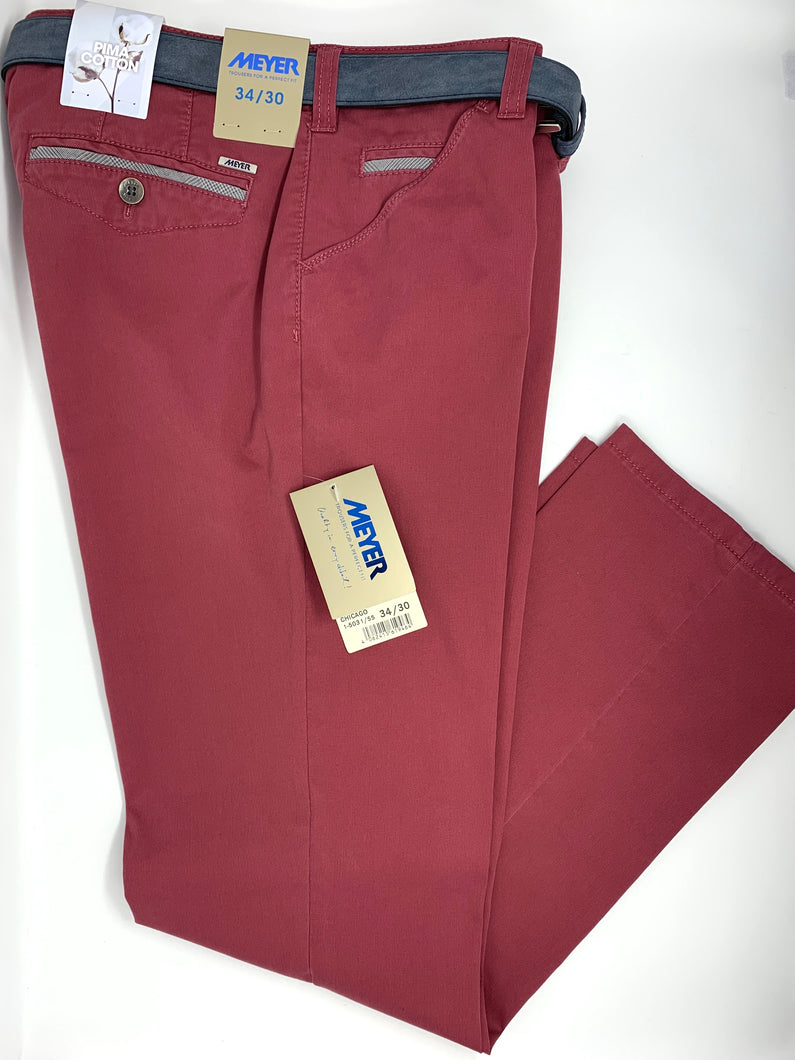 Meyer | Chicago Pima Cotton Trousers