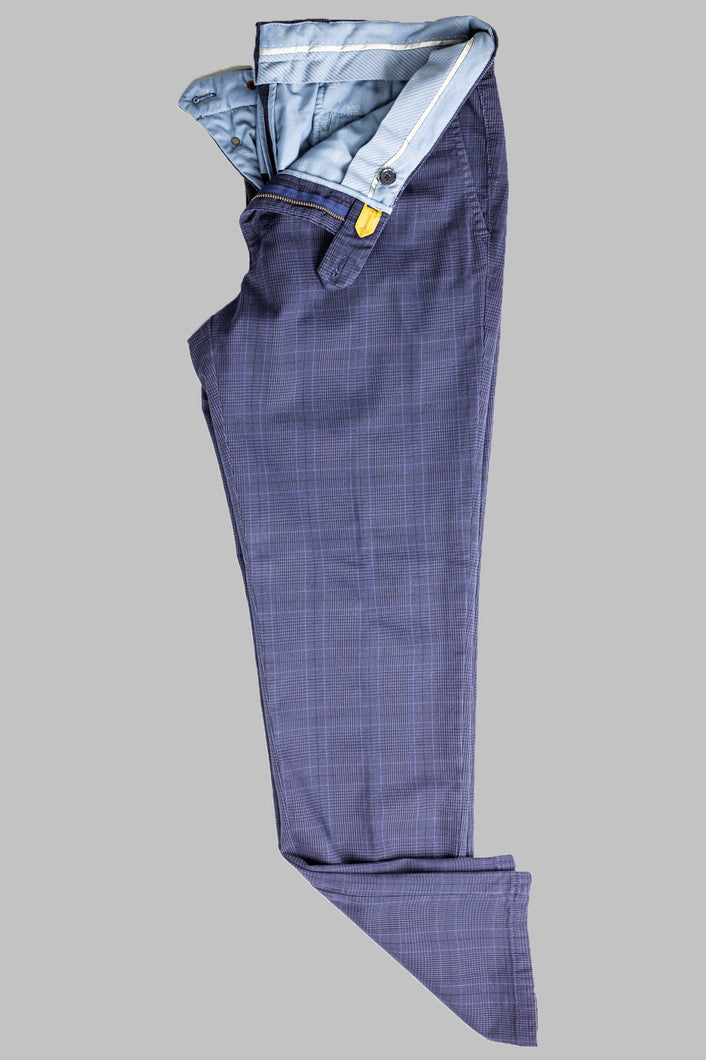 MMX 7591 18 Lupus Slim Fit Chinos navy check for sale online ireland