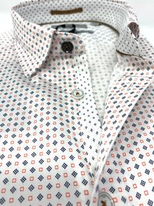 SORTIT GEO PRINT SHORT SLEEVE SHIRT